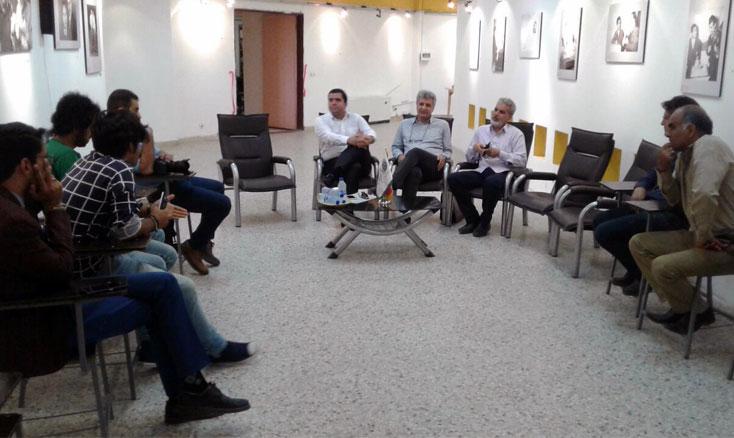 بازدید مدیرعامل انجمن سینمای جوانان ایران از دفتر یزد