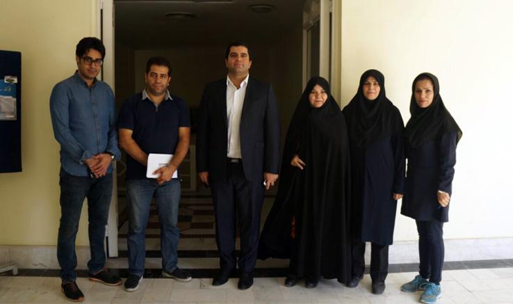 بازدید مدیرعامل انجمن سینمای جوانان ایران از دفتر مشهد