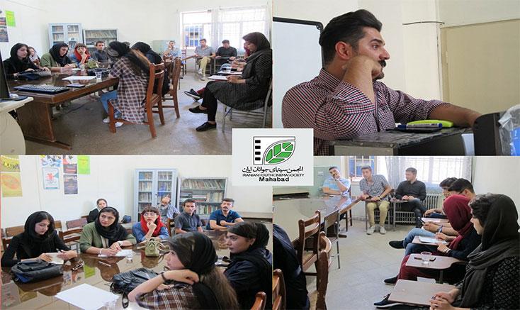 برگزاری کارگاه عکاسی در مهاباد