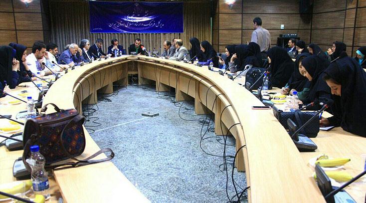 نشست مطبوعاتی شصتمین جشنواره منطقهای سینمای جوان در ملایر برگزار شد