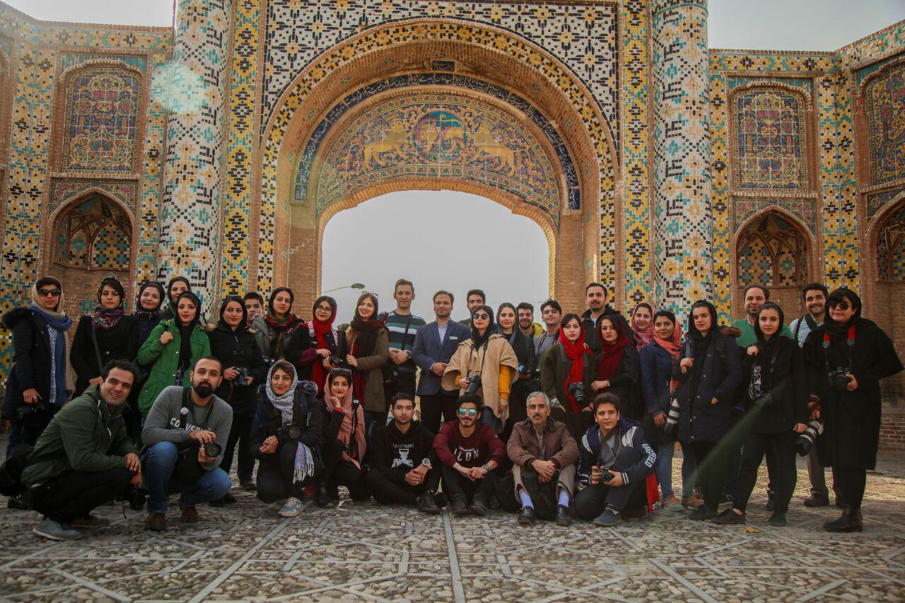 مستندنگاری اماکن تاریخی قزوین توسط عکاسان همدانی