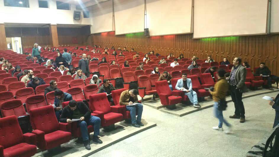 برگزاری آزمون پایان دوره کلاسهای عکاسی انجمن سینمای جوانان ارومیه