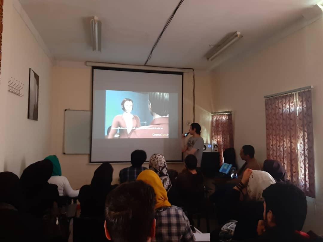 برگزاری کارگاه فیلم تجربی و تدوین در کرمانشاه
